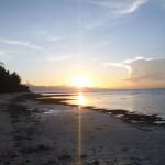 幻想的なドゥマゲッティーの夕日 自然と共に生きる大切さ