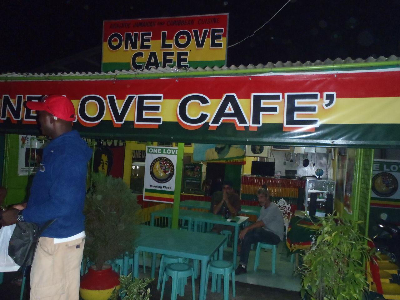 ドゥマゲッティーの美味しくてお勧めのレストラン、屋台第5弾 ジャマイカ、カリブ海料理 ワンラブカフェ