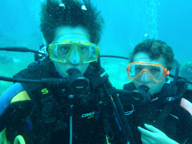 ダイビング+英語留学 新しい試み、地元との地の利を生かしたコラボ企画始動