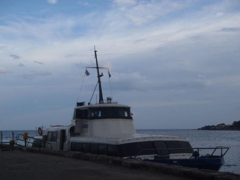ドゥマゲッティーからシキホール島までのフェリー時刻表、行き方