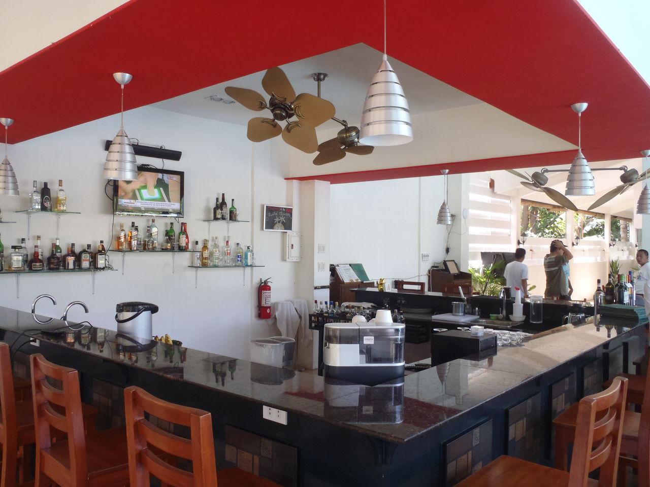 ドゥマゲッティにいながらシチリア島のリゾートに行けるレストラン