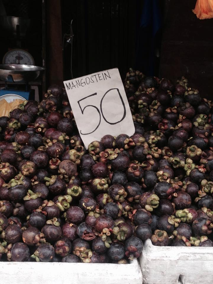 ドゥマゲッティにマンゴスチンの季節がやってきた