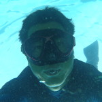 ドゥマゲティにスキンダイビング水中写真家誕生!?