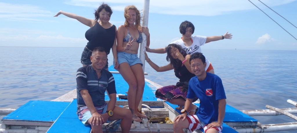 ダイビング+英語留学