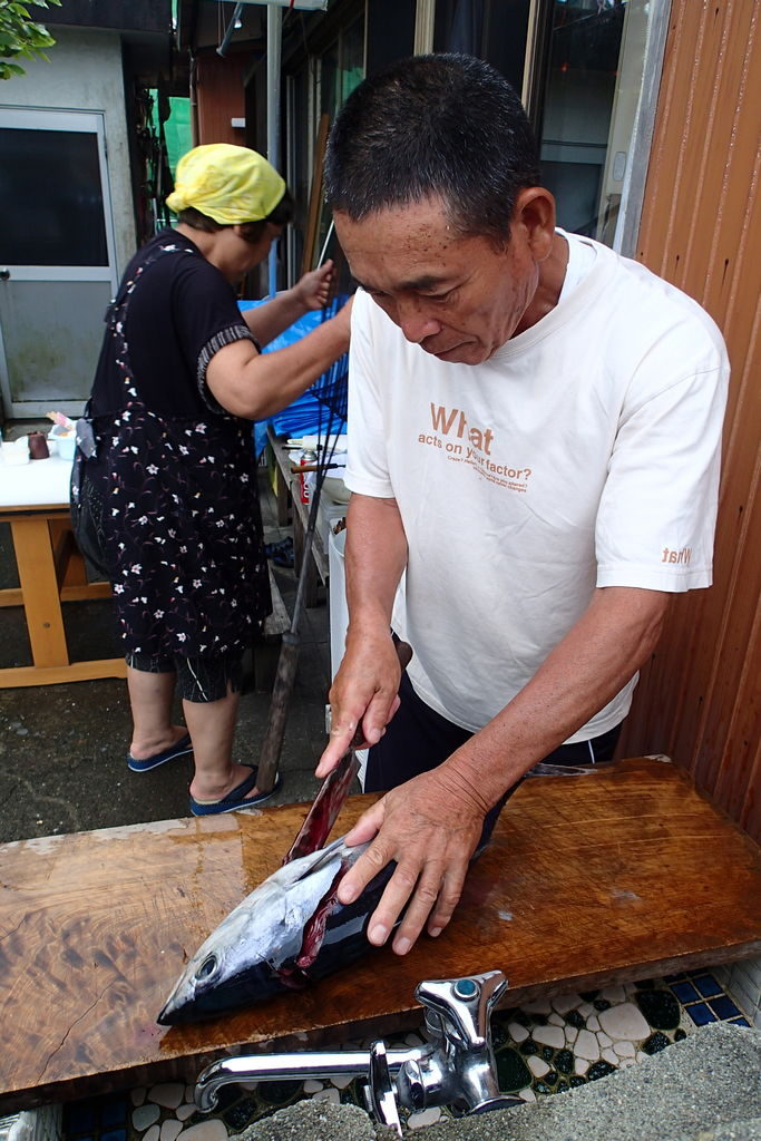 高知の漁師宿のおっちゃん