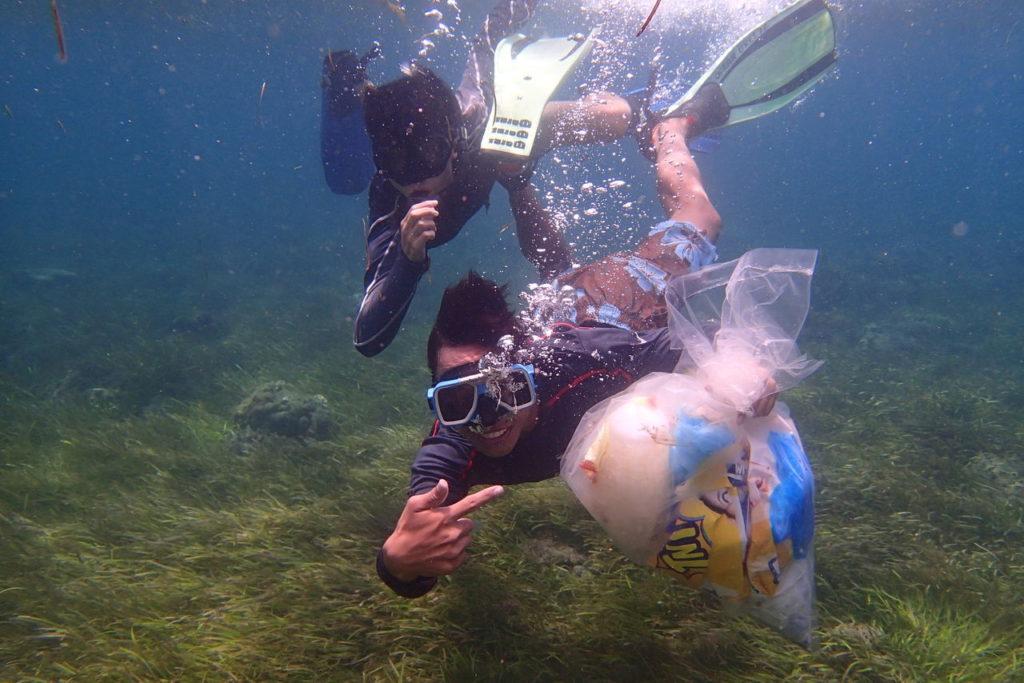 サンタモニカビーチ海底清掃プロジェクト