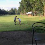 ドゥマゲッティでゴルフデビュー