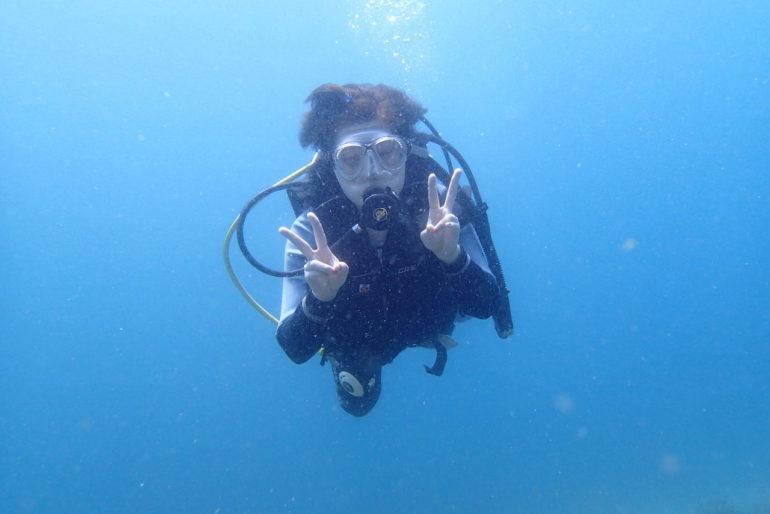 卒業旅行でドゥマゲッティでダイビングライセンスを取る