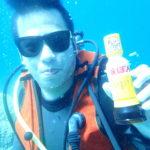 ドゥマゲッティで平和にダイビング