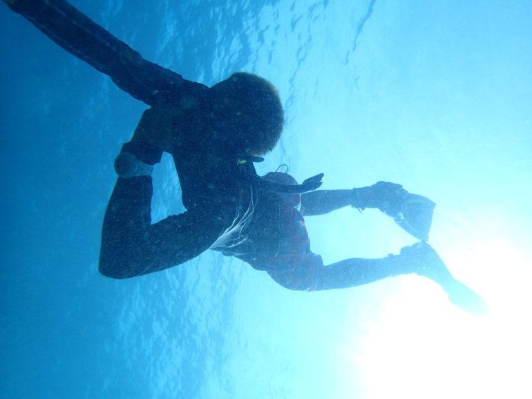 ドゥマゲッティで高校生ダイビング&フリーダイビング留学
