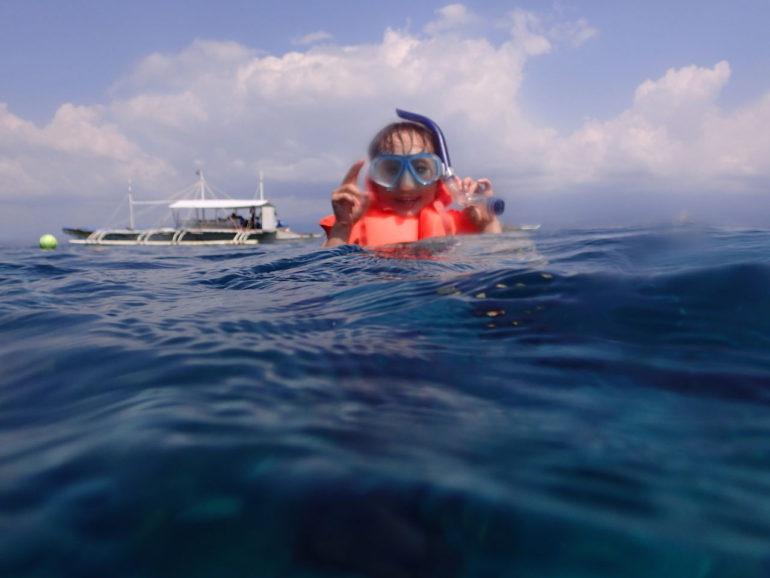 マニラ在住の家族にお勧めの海ドゥマゲッティ