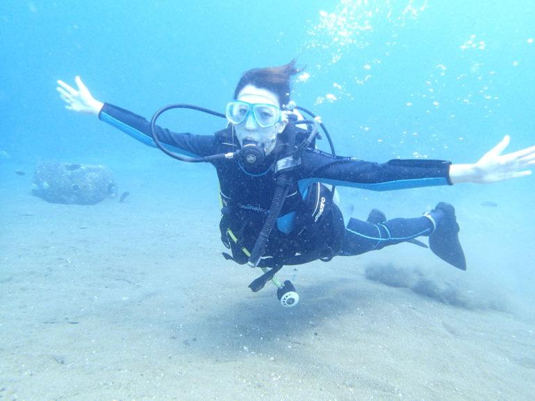 体験だけでは終わらない体験ダイビング