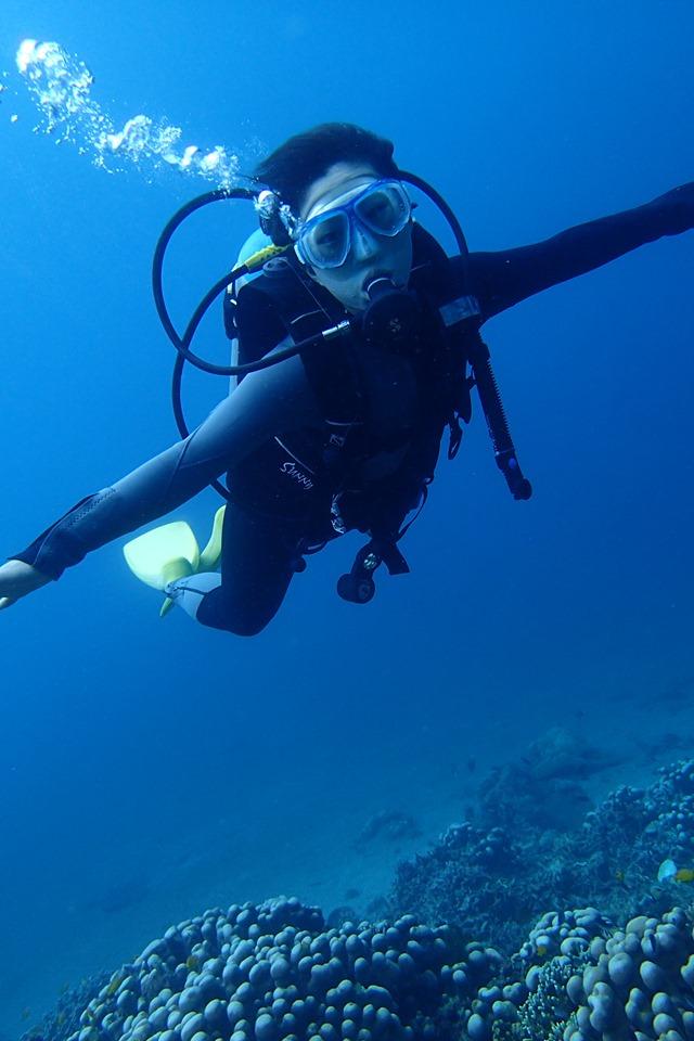 ドゥマゲッティでダイビングを通して未来を創っていく